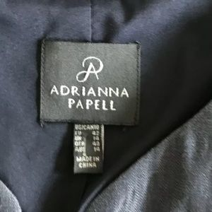 Adrianna Papell Jackets & Coats - Adrianna Papell Snap Button Tweed Blazer
